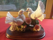 Vintage Leonardo Collection In Loved Couple Of Doves 1996