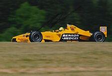 Ralph Firman Hand Signed Jordan Ford F1 12x8 Photo 3.