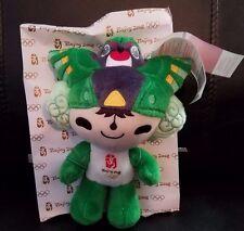 "Beijing Olympics 2008 Nini Green Mascot stuffed/plush doll 8"""