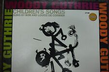 Woody Guthrie Children's Songs Sung By Bob & Louise De Cormier 33RPM 011416 TLJ