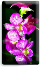 Tropical Orchid Flowers Phone Telephone Wall Plate Covers Floral Room Room Decor