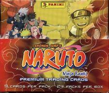 Naruto : Ninja Ranks  Card Box 24 ct  Panini - 2006 (Distributed by Inkworks)