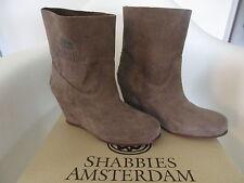 Shabbies Amsterdam hammer ardesia hightop Keil Boots neu und ungetragen Gr. 37