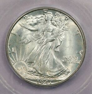 1947-D 1947 Walking Liberty Half Dollar ICG MS65