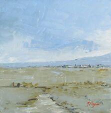Original landscape - palette knife Oil painting  - by j payne