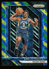 AARON HOLIDAY ROOKIE PRIZMS BLUE YELLOW GREEN REFRACTOR RC 2018-19 PRIZM CHOICE
