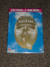 THE NAKED GUN TRILOGY : 3 FILM DVD BOX-SET IN VGC (FREE UK P&P)