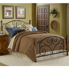 Metal Bed Frame Full Size Iron Headboards And Footboards Four Poster Beds Iron