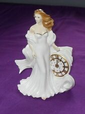 VERY RARE VINTAGE ROYAL WORCESTER PORCELAIN ETERNITY MILLENNIUM FIGURINE