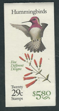 Scott #2642/6...29 Cent...Hummingbirds....Booklet With 20 Stamps...BK #201