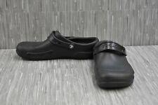 **Crocs Bistro 10075 Clogs, Unisex Size M(9), W(11) - Black