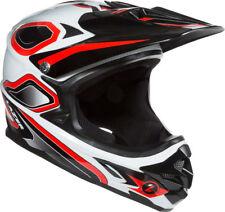 Lazer Phoenix Plus Full Face Helmet: Red/White LG