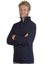 Hombre Jersey Algodón Sudadera Con Cremallera Cuello Alto promodoro s- XL