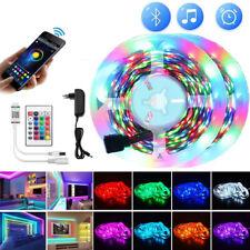 5M 10M RGB LED Stripe 5050SMD Band Leiste Streifen Leuchte Lichterkette Netzteil