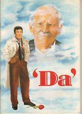 "Barnard Hughes  ""Da""  Souvenir Program  1993  Dublin, Ireland   Olympia Theatre"