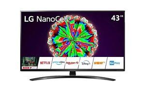 "Televisore TV LG NanoCell 43"" 43NANO793  SMART LED UHD 4K HDR Piede Centrale"