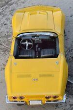 1971 Vette Corvette Chevy Sport Race Car Vintage 1 18 Metal 24 Carousel Yello 12