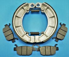 REAR BRAKE SHOES FOR HONDA 500 TRX500 FA FGA FPA FOREMAN RUBICON 2005-2013