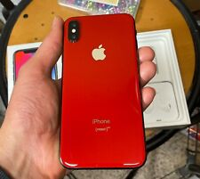 Apple iPhone X - 256GB - Product Red(Unlocked) A1901 (GSM)