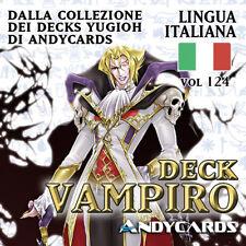 Yu-Gi-Oh! Mazzo VAMPIRO pronto da giocare ☻ Deck 124 ☻ YUGIOH ANDYCARDS