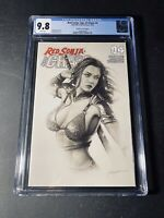 "Red Sonja Age of Chaos #4 ""Trade"" Variant Shannon Maer CGC 9.8 NM/MT"