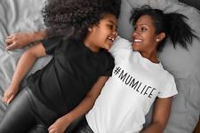 #Mumlife Motherhood Ladies Tshirt Gift For New Mum Mummy Tshirt Christmas