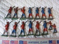 15 Vintage WW1 Germany Semi Flat  Lead Toy Soldiers