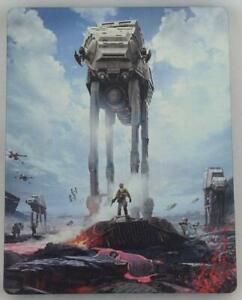 Star Wars: Battlefront - Collectible Steelbook Case [No Game Disc Included] NEW
