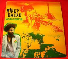 Mikey Dread World War III LP UK ORIG 1980 Dub/Roots Dread At The Controls VINYL