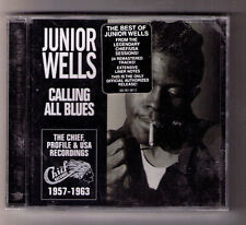 Calling All Blues Junior Wells sealed CD 24tx Chicago harmonica harp Earl Hooker