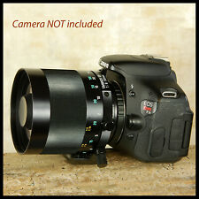 Canon EOS Digital fit Tamron 500mm F8 SP AD Telephoto Mirror Lens FREE UK POST