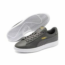 Puma Smash v2L Unisex Adulto Zapatillas Retro Zapatillas de Deporte 365215 Gris