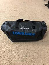 Grundens Shore leave 55 Liter Waterproof Duffel Bag Backpack W/ Lowrance Logo