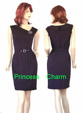 Unbranded Knee Length Polyester Dresses for Women