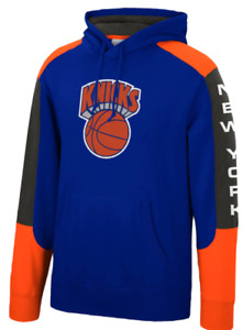 New York Knicks Mitchell & Ness NBA Fusion Fleece Hoody