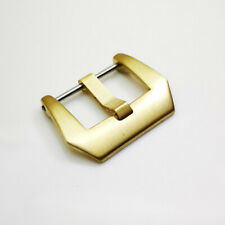 18mm 20mm 22mm 24mm 26mm Full Brass Screw Tang Buckle for Rubber Leather Strap