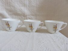 Vintage Rooster Weathervane Coffee Cups (3) USA
