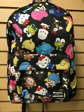 Sanrio Hello Kitty & Friends Backpack Zipper with inside laptop pouch Loungefly