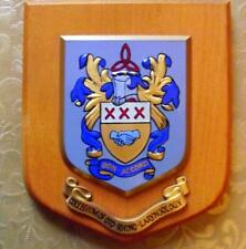 More details for 1960 ent ear nose throat college hospital infirmary crest shield plaque z