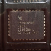 10PCS IC AM29F040B-90JC AM29F040B-90JI PLCC32   NEW GOOD QUALITY