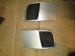 Subaru Impreza WRX STi Black Fog Light Lamp Bumper Bezel Cover Cap 2012 Sedan