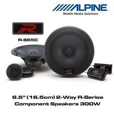 """Alpine R-S65C - 6.5"""" (16.5cm) 2-Way R-series Porta Componenti Altoparlanti 300W"""