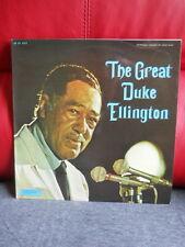 RARE LP 33T 1/3 THE GREAT DUKE ELLINGTON 1st FRENCH RELEASED