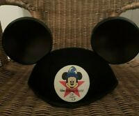 Walt Disney World Mickey Mouse Ears Hat MEGHAN Vintage 1996 25th Anniversary