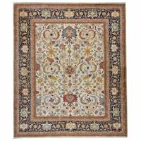 Oriental Hand-Knotted Tribal Design Handmade 100% Wool Rug 7.11 X 9.9 Brrsf-1281