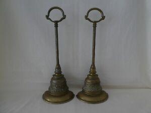 Pair of Antique Brass Doorstops