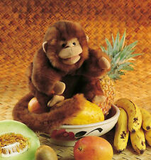 MONKEY PUPPET # 2123 ~ So Soft & Cute!  Free Shipping/USA ~ Folkmanis Puppets