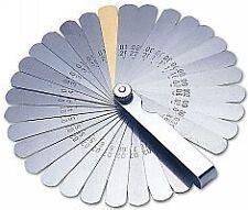 Laser 2481 Feeler Gauge Imperial/Metric - 32 Blades (Genuine Branded Tool)