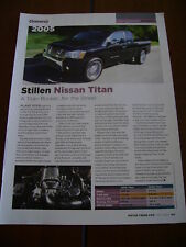 2005 STILLEN NISSAN TITAN  ***ORIGINAL ARTICLE***