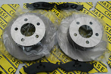 Jeep Cherokee 85-01, Grand Cherokee 94-99, Wangler 93-07 Front Disc And Pads
